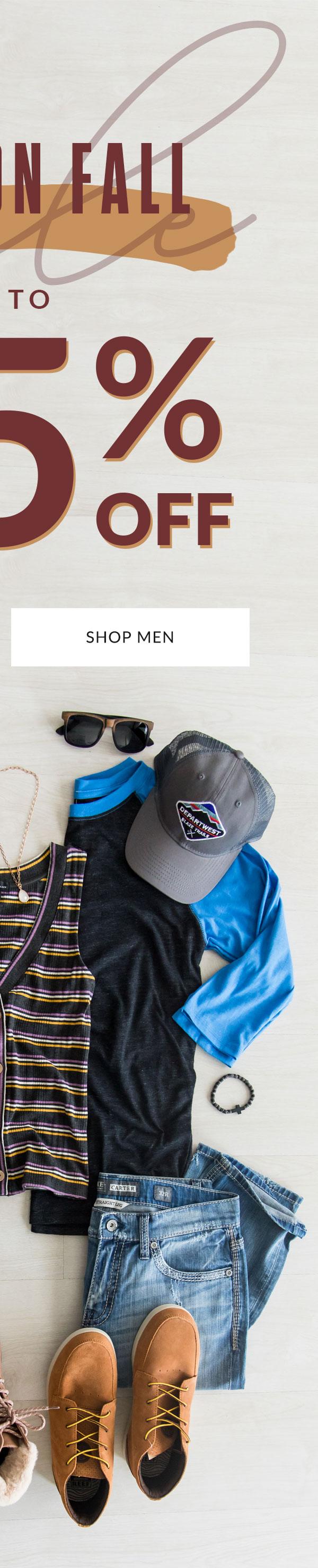 Shop Men's Fall Sale