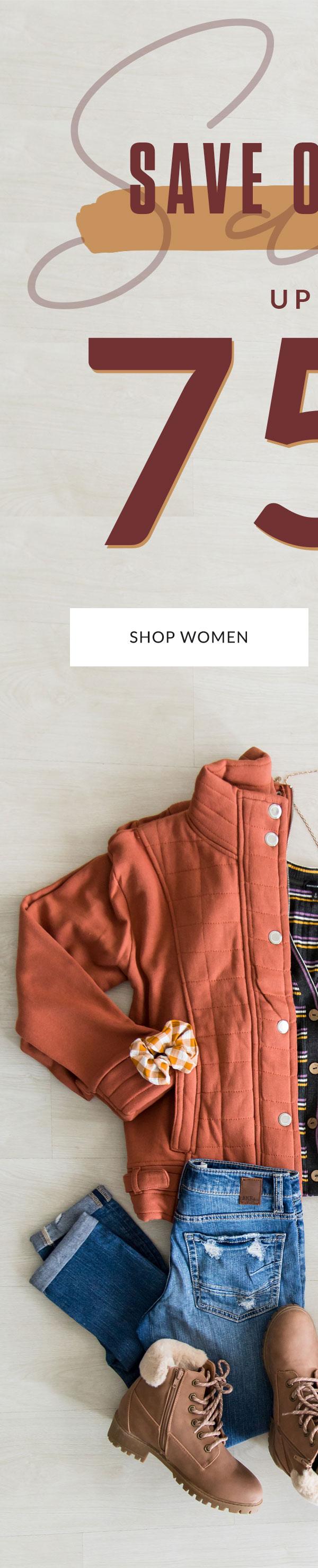 Shop Women's Fall Sale