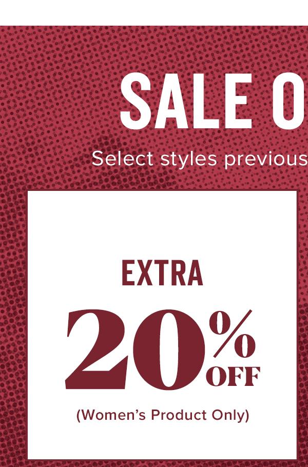 Shop Extra 20% Off