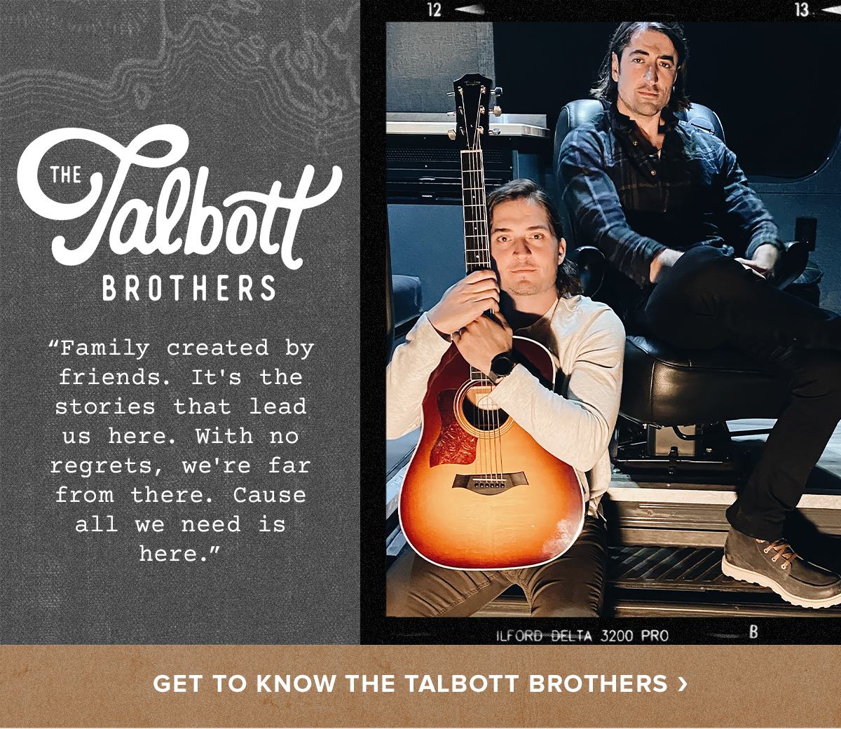 Get to Know The Talbott Brothers
