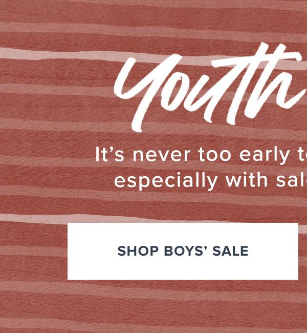 Shop Boys' Sale