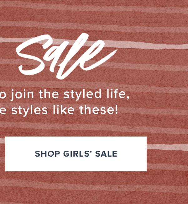 Shop Girls' Sale