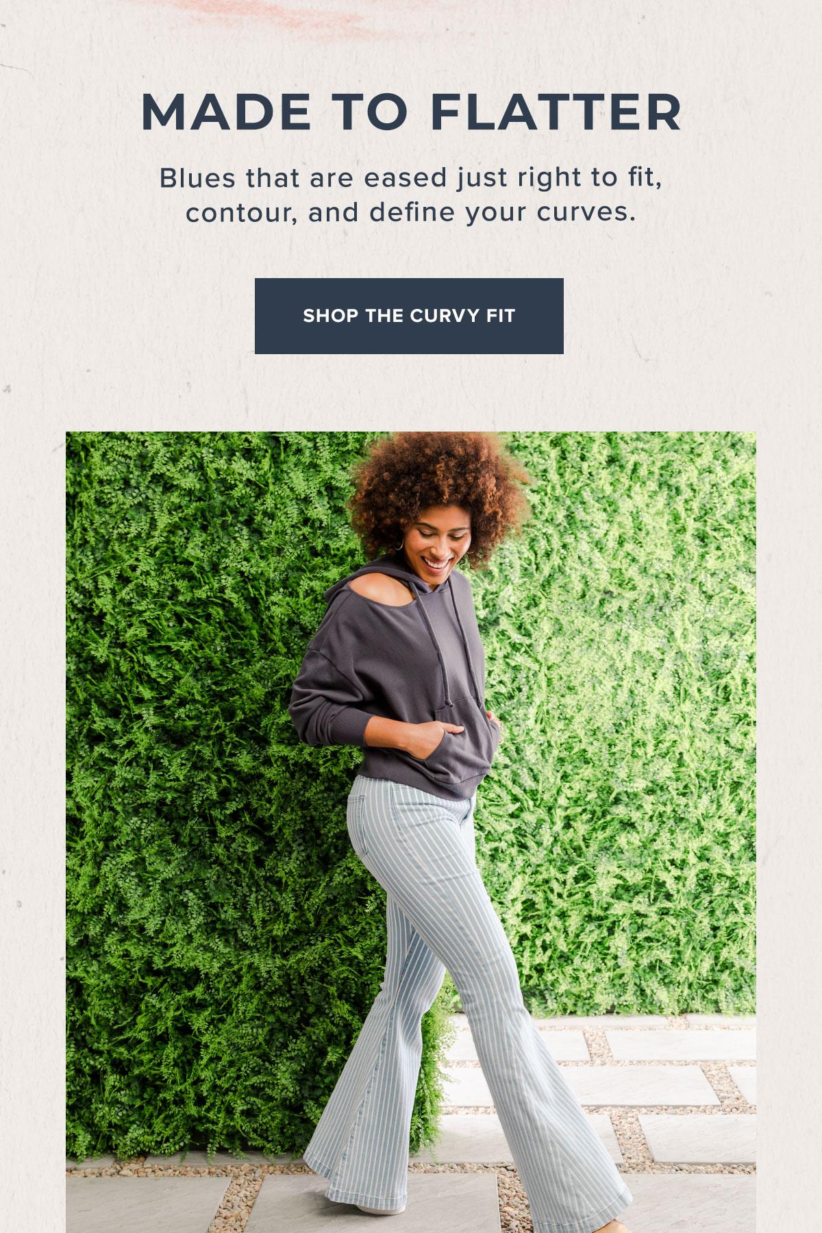 Shop Women's Curvy Fit